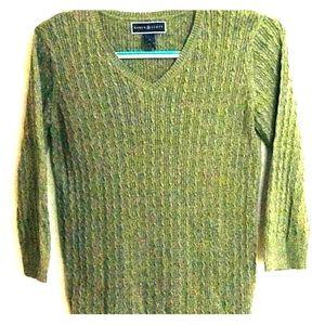 Green Lightweight dressy sweater